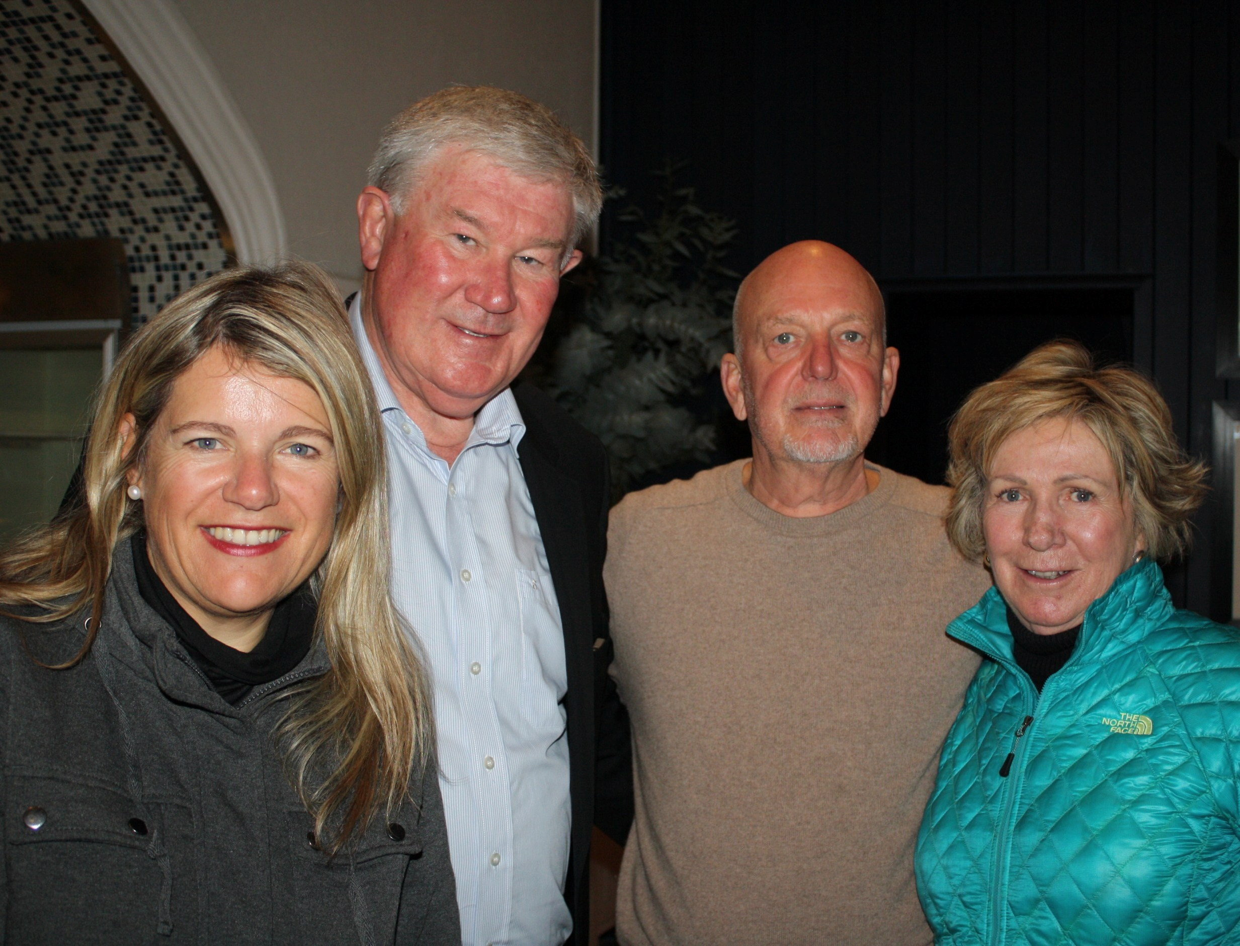 Pinot Noir as FynArt with Frieda Lloyd, Hermanus Wine Route, Danie de Wet, Melvyn Minnaar and Norma Ratcliffe.