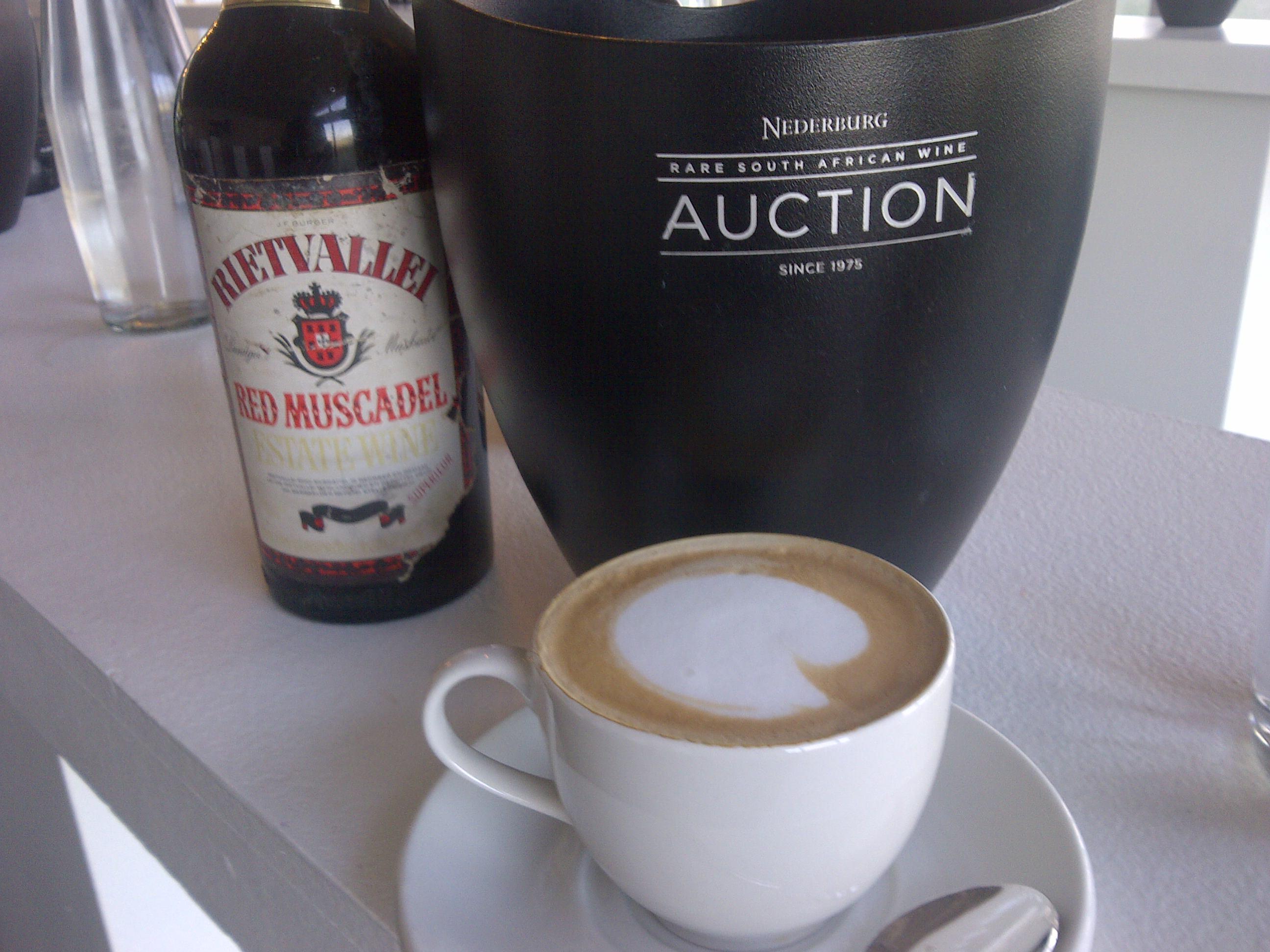 Breakfast - Nederburg Auction style.