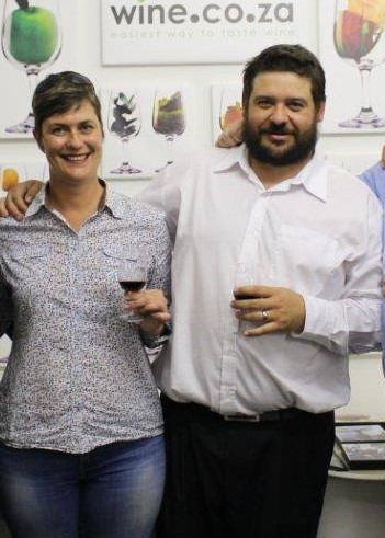 Pierre Rabie and Tanja Beutler, two garagistes. Pierre is the one with the beard.