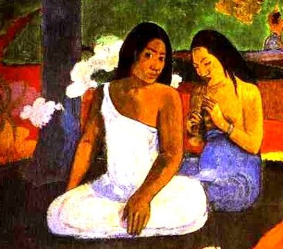 Gauguin-style.