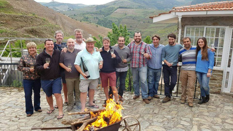 Portuguese and South Africans - the quiet before the rugby storm.