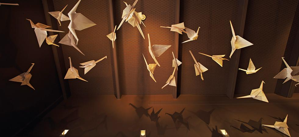 Folded-paper-birdy-things called origami.