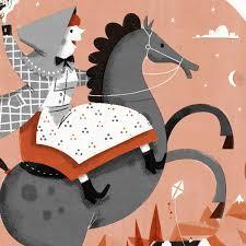 Catharina, demon on a side-saddle.