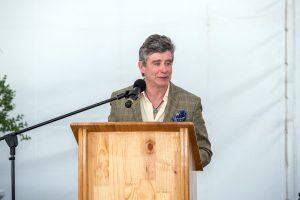 Jay McInerney at the De Wetshof Celebration of Chardonnay.