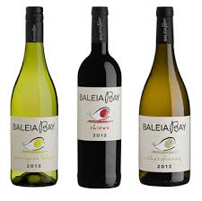 The wines of Baleia Bay.