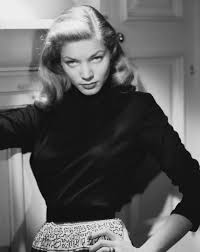 Lauren Bacall giving a sales pitch: is that a wallet in your pocket or you happy to see me?