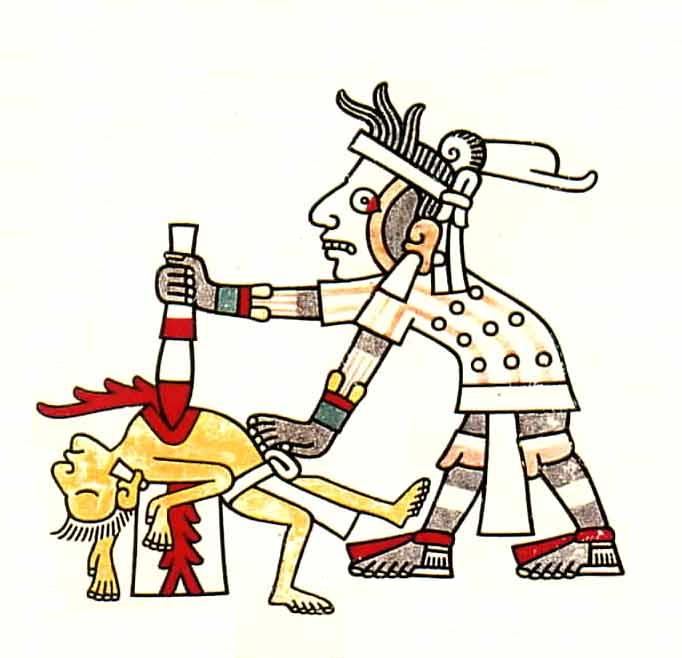 Peruvian Inca doing some baby-sitting.