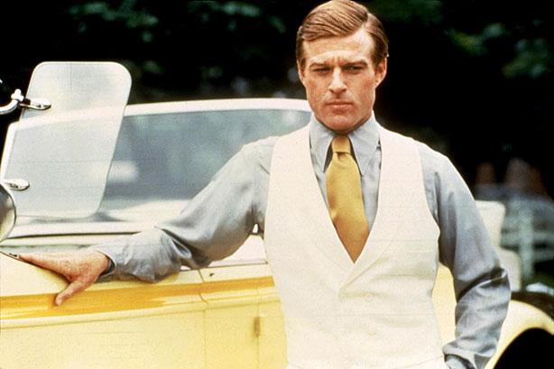 Robert Redford as Jay Gatsby, sandwich inspirer.