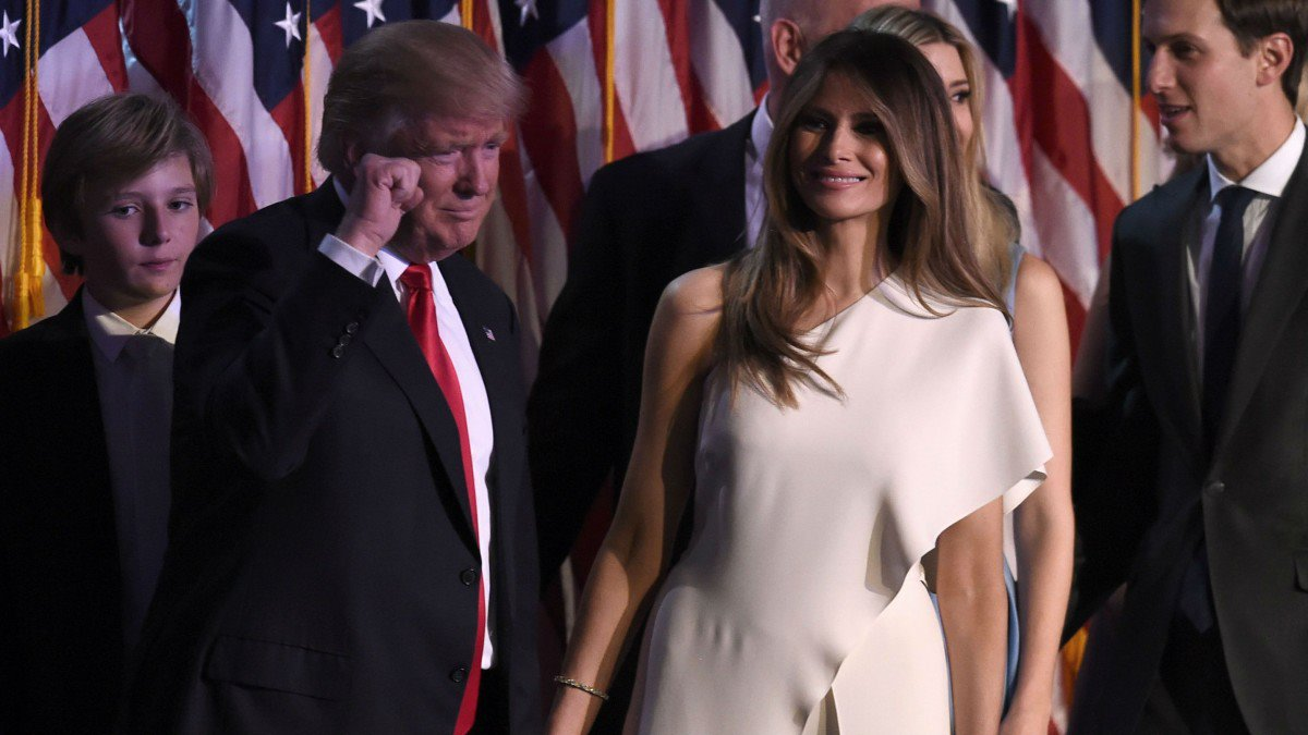 Donald and Melania Trump. Power to the people.